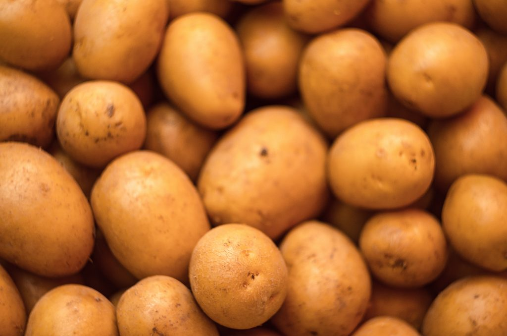 10 Amazing vegetables for hair growth Potatoes