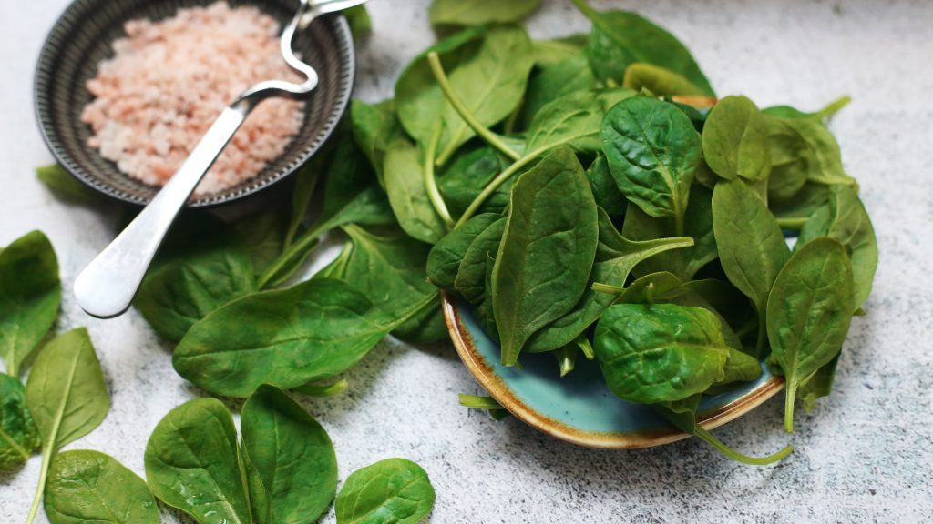 10 Amazing vegetables for hair growth Spinach