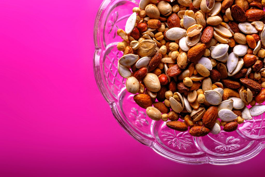 EAT TOO MANY NUTS AND SEEDS Daily