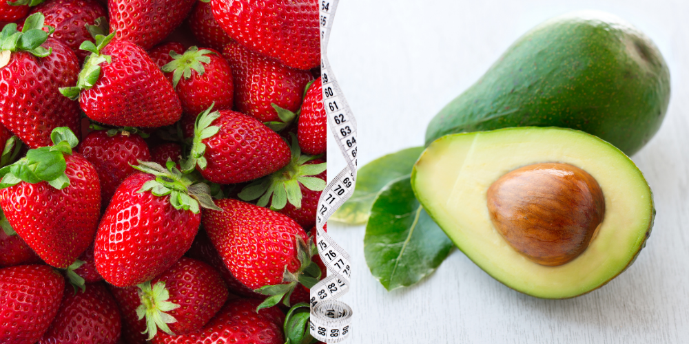 Strawberries and avocado Fat-Burning Foods To Eat Now