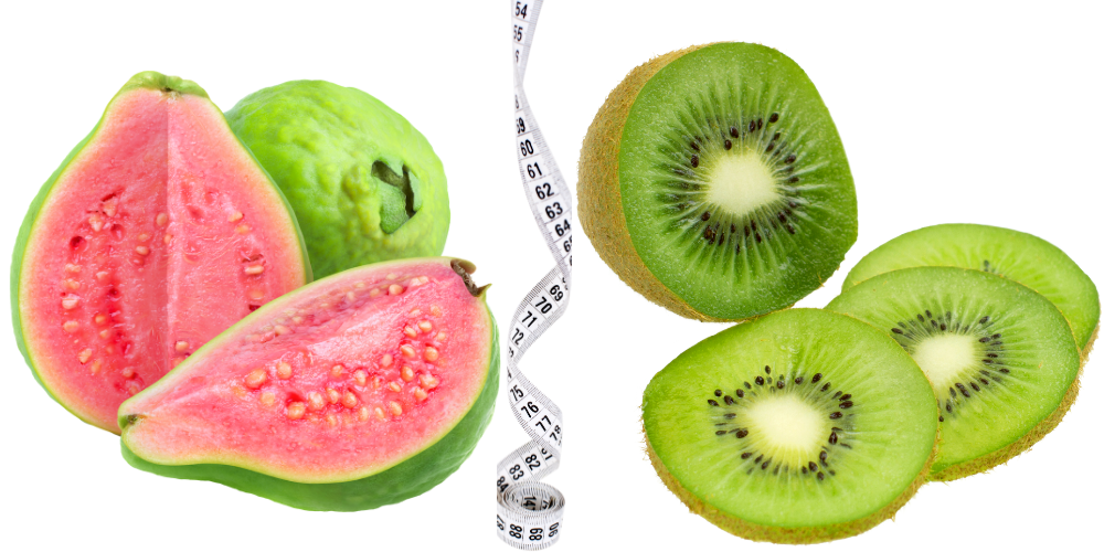 Guava and kiwi Best Fat-Burning Foods To Eat Now