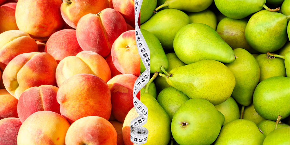 Peaches and pear Fat-Burning Foods To Eat Now